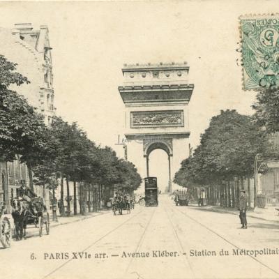 Cadot 6 - Avenue Kléber - Station du Métropolitain