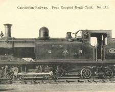 Caledonian Railway - Four Coupled Bogie Tank N° 111