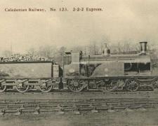 Caledonian Railway N° 123 - 2-2-2 Express