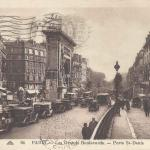 CAP 64 - Les Grands Boulevards - ¨porte St-Denis
