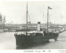 Cargo CALVADOS GB 1901