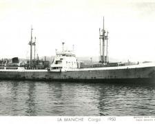 Cargo LA MANCHE 1950