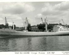 Cargo VILLE DU HAVRE France 6-8-1967