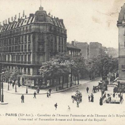 FF 1101 - Carrefour de l'Avenue Parmentier et République
