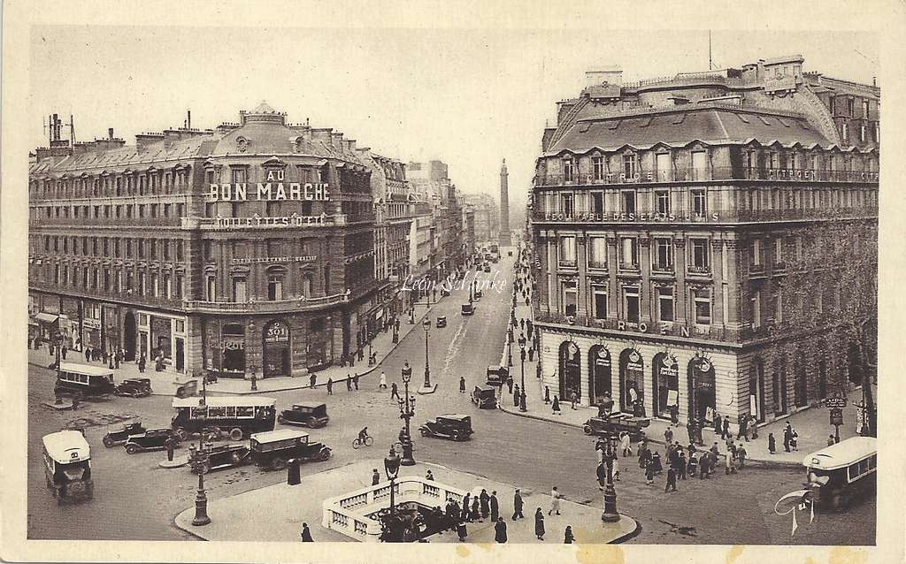 GUY 70 - Carrefour de la Rue de la Paix et de l'Avenue de l'Opéra