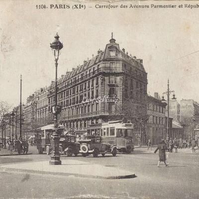 FF 1104 - Carrefour des Avenues Parmentier et République