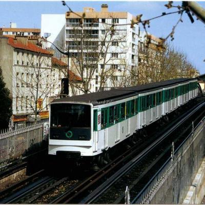Cart'entrain 045 - Le MP73 de Nationale vers Place d'Italie