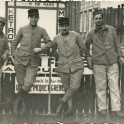 Carte photo - fermeture de la station en septembre 1939
