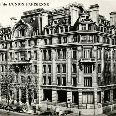 Carte-photo - La Banque de L'UNION PARISIENNE