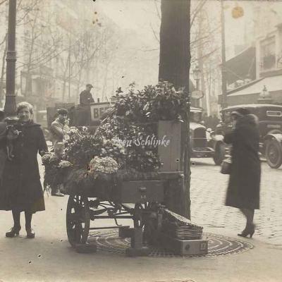 Carte-photo - La Fleuriste de La Fourche