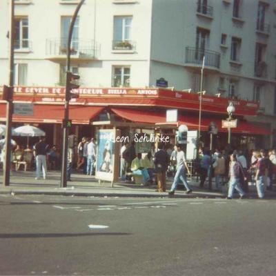 Carte-photo ''Le Réveil de Montreuil''