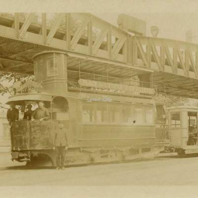 Carte-photo - Tramway L'Etoile à La Villette