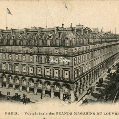 Carte-pub - Magasins du Louvre (vue générale)