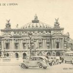 Carte transparente - Place de l'Opéra
