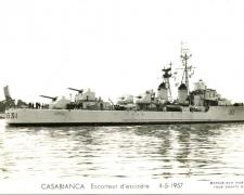 Escorteur d'escadre CASABIANCA   4-5-1957