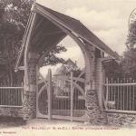 Castel d'Orgeval - Entrée principale (L.Vacher)