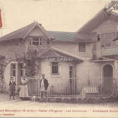Castel d'Orgeval - Les Communs (L.Vacher)
