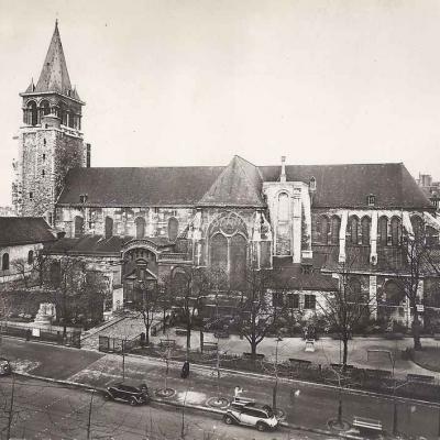 Ch. W. 12 - Eglise Abbatiale de St-Germain des Prés