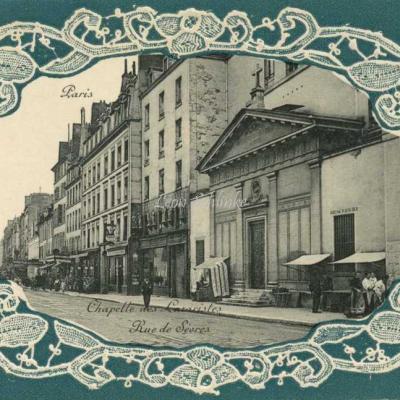 Chapelle des Lazaristes - Rue de Sèvres