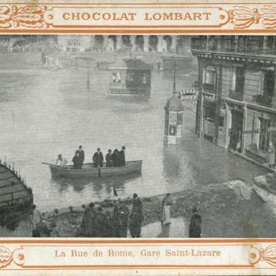 Chocolat Lombart - La Rue de Rome, Gare St-Lazare
