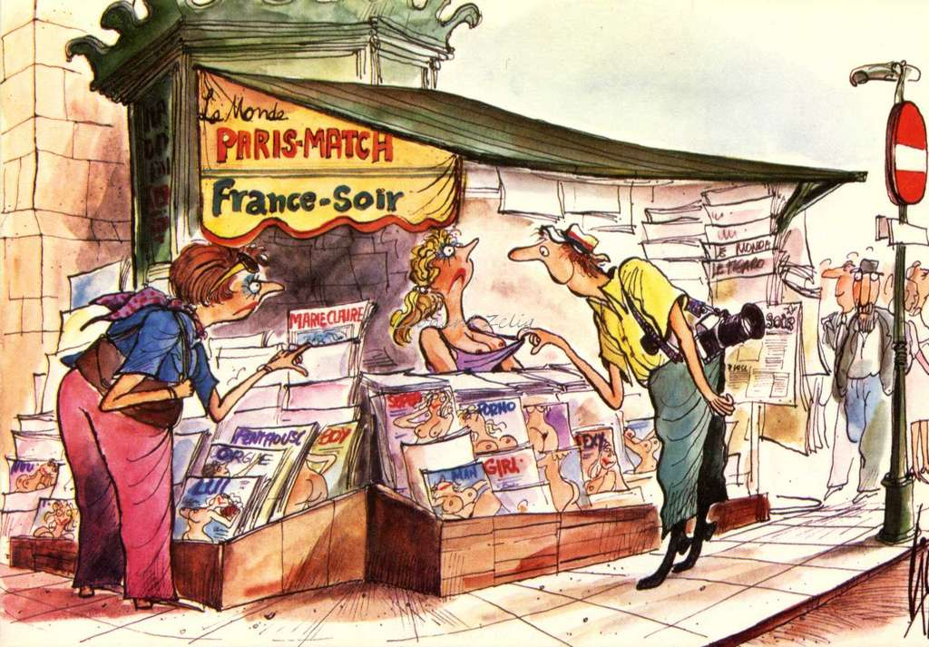 Cid 8 - Les kiosques de Paris
