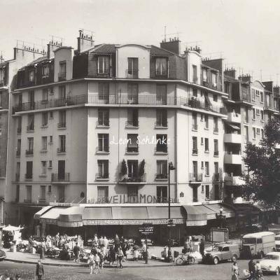 CIM 338 - La Porte de Montreuil - Café ''Le Réveil de Montreuil''