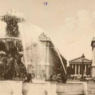 Cimper 76 - PARIS - Fontaine de la Place de la Concorde