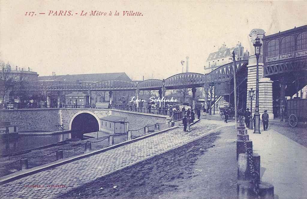 CJ 117 - Le Métro à la Villette (Jeangette)