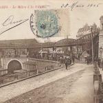 CJ 117 - Le Métro à la Villette