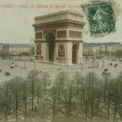 CJ 167 - Place de l'Etoile et Arc de Triomphe