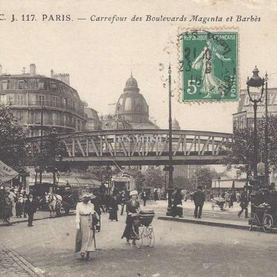 CL 117 - Carrefour des Boulevards Magenta et Barbès