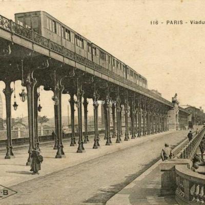 CLB 116 - PARIS - Viaduc de Passy