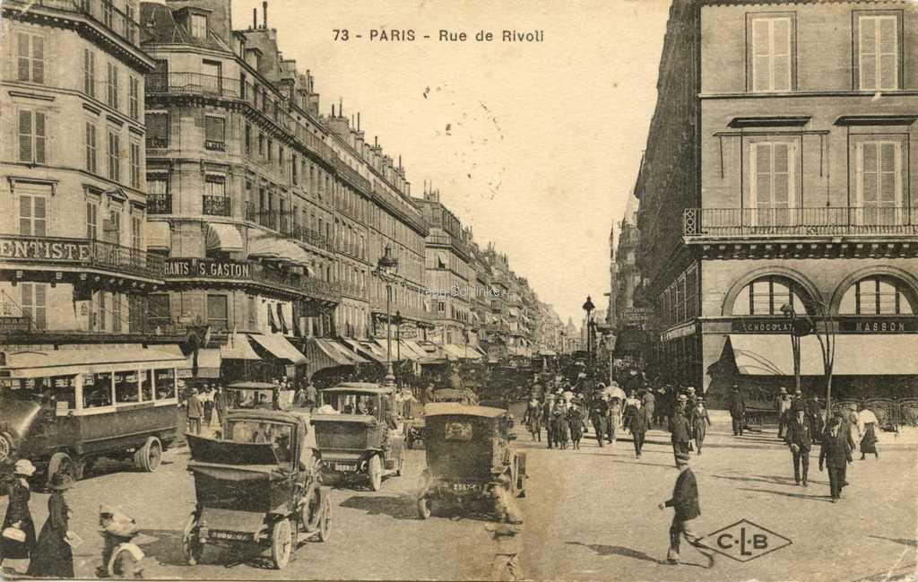 CLB 73 - Rue de Rivoli