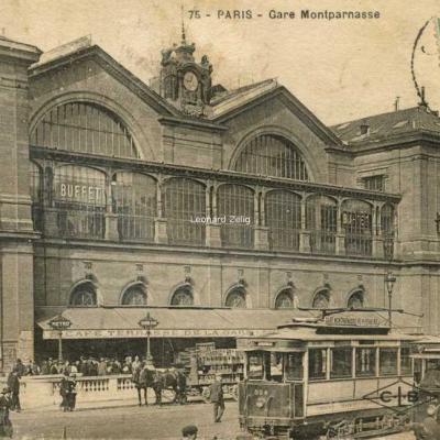CLB 75 - PARIS - Gare Montparnasse