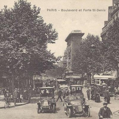 CLB - Boulevard et Porte St-Denis