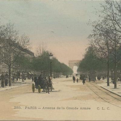 CLC 385 - PARIS - Avenue de la Grande Armée