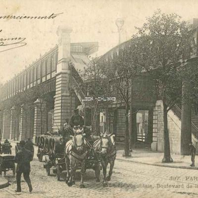 CLC 397 - Le Métropolitain, Boulevard de la Villette