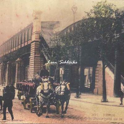CLC 397 - Métropolitain, Boulevard de la Villette
