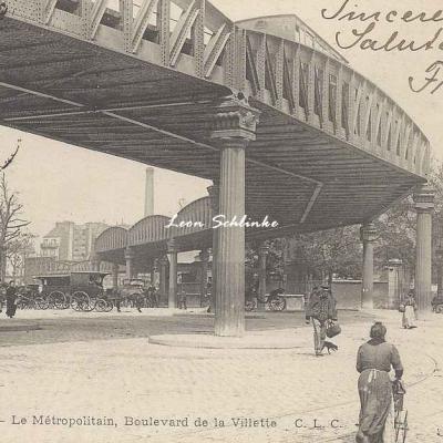CLC 400 - Le Métropolitain, Boulevard de la Villette
