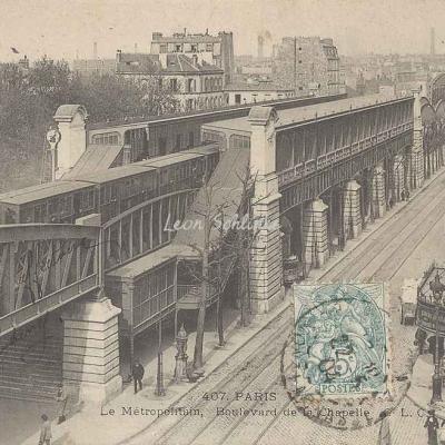 CLC 407 - Le Métropolitain - Boulevard de la Chapelle
