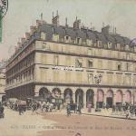 CLC - 472 - Grand Hôtel du Louvre et Rue de Rivoli