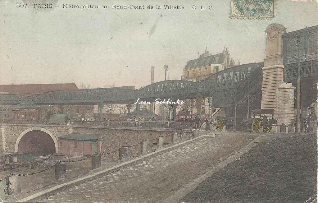 CLC 507 - Métropolitain au Rond-Point de la Villette