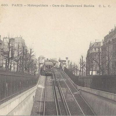 CLC 660 - Métropolitain - Gare du Boulevard Barbès