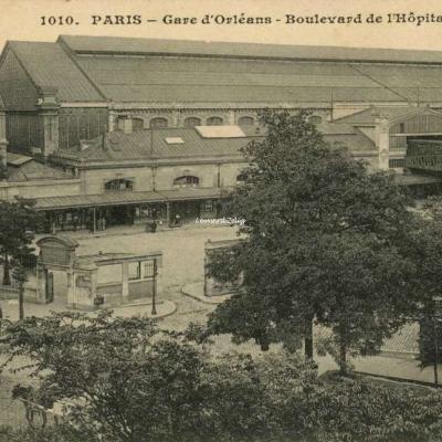 CM 1010 - PARIS - Gare d'Orléans - Boulevard de l'Hôpital