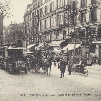 CM 102 - Le Boulevard et la Porte St-Denis