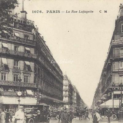 CM 1076 - La Rue Lafayette