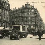 CM 113 - PARIS - La Place de l'Opéra