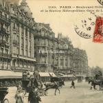 CM 1162 - Boulevard Diderot et la Station du Métropolitain