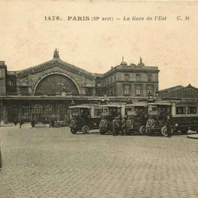 CM 1476 - PARIS - La Gare de l'Est