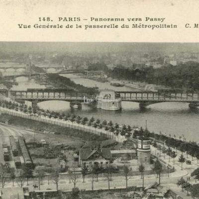 CM 148 -  Panorama vers Passy